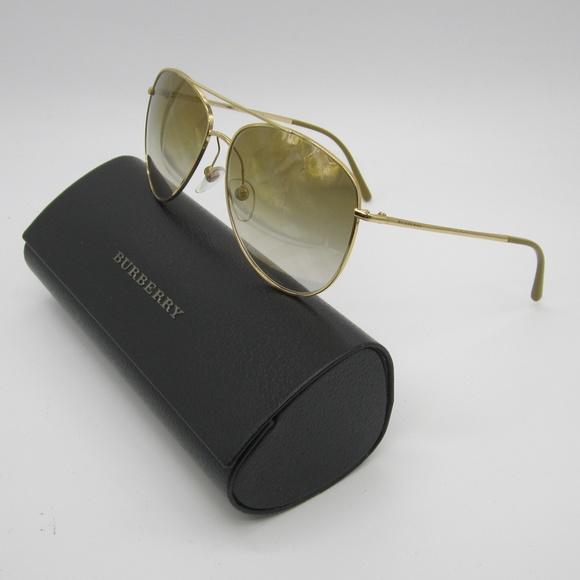 c595f8a39902 Burberry Accessories - Burberry B 3072 Aviator Sunglasses  Italy  ELL424